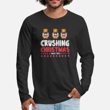 Crushing Christmas - Nutcracker - Men's Premium Longsleeve Shirt