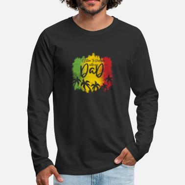 Reggae Reggae dad - dad father - Men's Premium Longsleeve Shirt