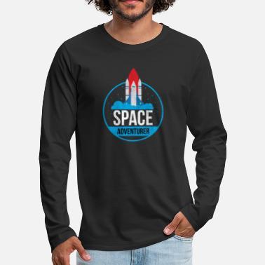 Space Adventurer Space Adventure Gift - Men's Premium Longsleeve Shirt