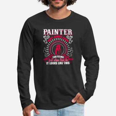 Painter Painter Awesome Painter - Premium langermet T-skjorte for menn
