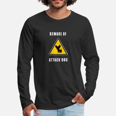 Attack Dog beware of attack dog - Men's Premium Longsleeve Shirt
