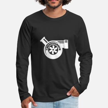 Turbocompresor turbocompresor - Camiseta de manga larga premium hombre