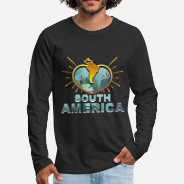 South America South America - Men's Premium Longsleeve Shirt