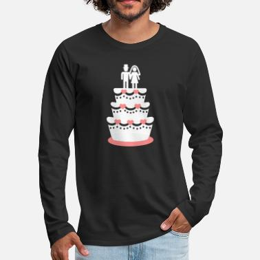 Wedding Cake Wedding cake - Men's Premium Longsleeve Shirt