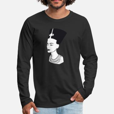 Ancient Egypt Cleopatra Egypt ancient - Men's Premium Longsleeve Shirt