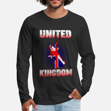 United United Kingdom United Kingdom - Men's Premium Longsleeve Shirt