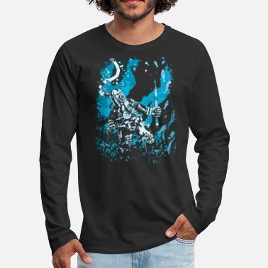 Alto Mare Diver diving subacquea mare scuba regalo - Maglietta maniche  lunghe premium uomo 046b8d1dc6f9