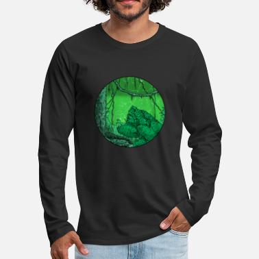 Nature Conservation Rainforest tropics environmental protection nature climate change - Men's Premium Longsleeve Shirt