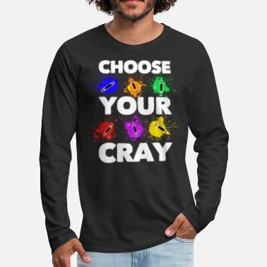 Get Your Cray On - Men's Premium Longsleeve Shirt