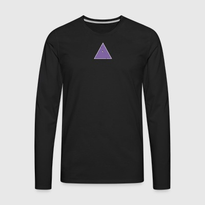 hope triangle - Men's Premium Longsleeve Shirt