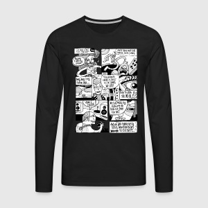 New Dimension - Men's Premium Longsleeve Shirt