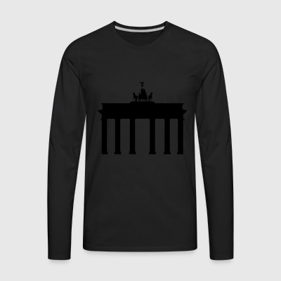 Berlin Brandenburg Gate - Men's Premium Longsleeve Shirt
