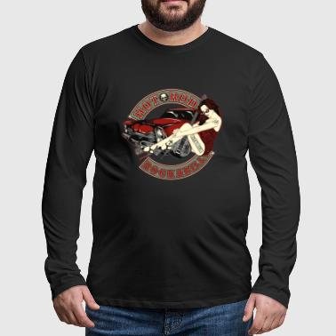 Hot Rod Babe - Men's Premium Longsleeve Shirt