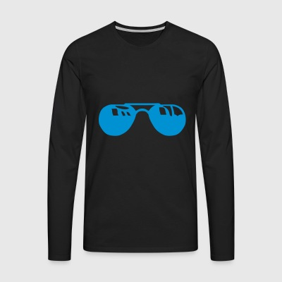 sunglasses 9105 - Men's Premium Longsleeve Shirt