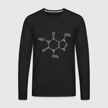 Caffeine coffee - Men's Premium Longsleeve Shirt
