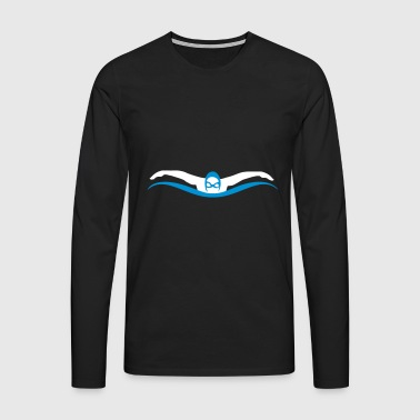 swim - Men's Premium Longsleeve Shirt