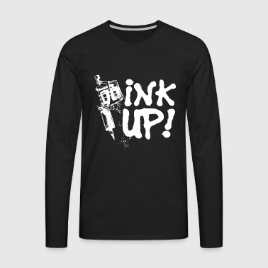 Ink Up Tattoos tattooed - Men's Premium Longsleeve Shirt