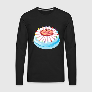 Cake birthday gift - Men's Premium Longsleeve Shirt
