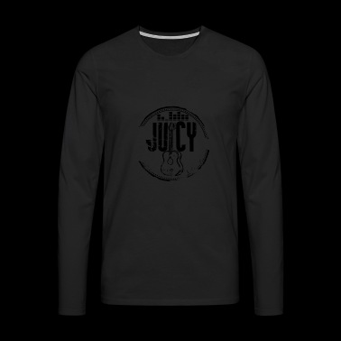 JUICY Guitar logo - Men's Premium Longsleeve Shirt