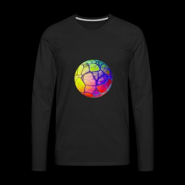 Sphere Psychedelic Abstract Gift - Men's Premium Longsleeve Shirt