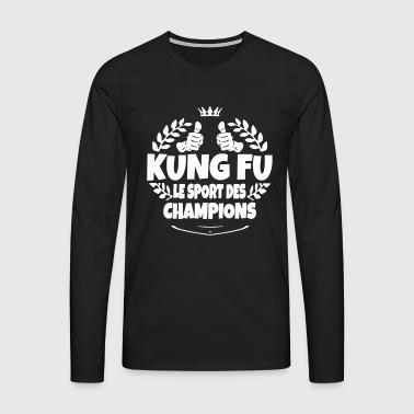Manches longues kung fu commander en ligne spreadshirt for 36e chambre de shaolin