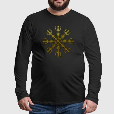 Aegishjalmur Helmet of Awe Viking viking vikings - Men's Premium Longsleeve Shirt