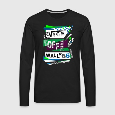 viceoffthewall - T-shirt manches longues Premium Homme