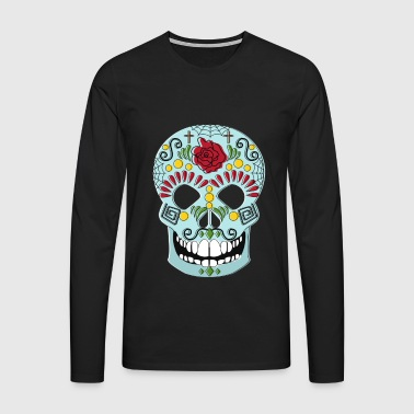MEXICAINE SKULL - T-shirt manches longues Premium Homme