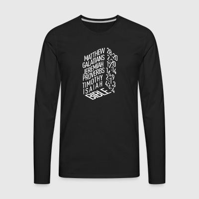 Bible verses - Men's Premium Longsleeve Shirt