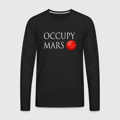 Occupy March Space - Men's Premium Longsleeve Shirt