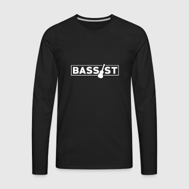 Bassist - Music Passion! - Men's Premium Longsleeve Shirt