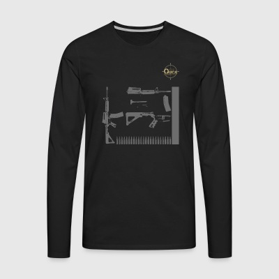 QUICK ARMS LOGO 7 - Men's Premium Longsleeve Shirt