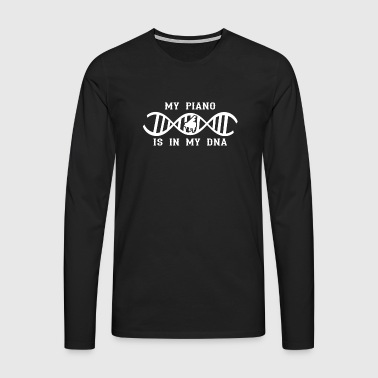 dna dns roots love gift piano piano - Men's Premium Longsleeve Shirt