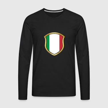World Champion Champion 2018 wm team Italy png - Men's Premium Longsleeve Shirt
