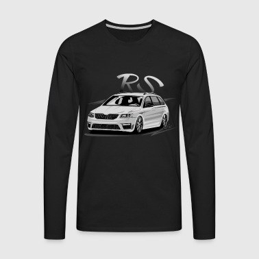 voiture tuning - T-shirt manches longues Premium Homme