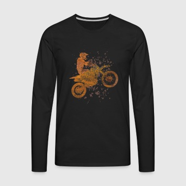 Spotting motocross - Men's Premium Longsleeve Shirt