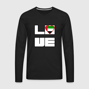 Love Land Roots United Arab Emirates - Men's Premium Longsleeve Shirt