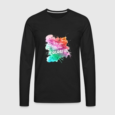 colorful - Men's Premium Longsleeve Shirt