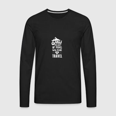 Travel Travel - Men's Premium Longsleeve Shirt
