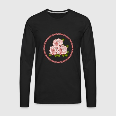 flowers - Men's Premium Longsleeve Shirt