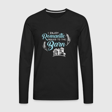 Romantic Barn - Men's Premium Longsleeve Shirt