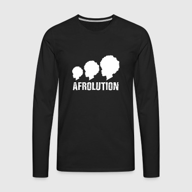 Afrolution African Pride T-shirt - T-shirt manches longues Premium Homme