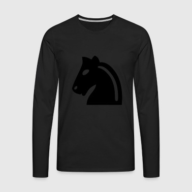 Chess horse - Men's Premium Longsleeve Shirt