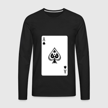Ace Of Spades - Men's Premium Longsleeve Shirt