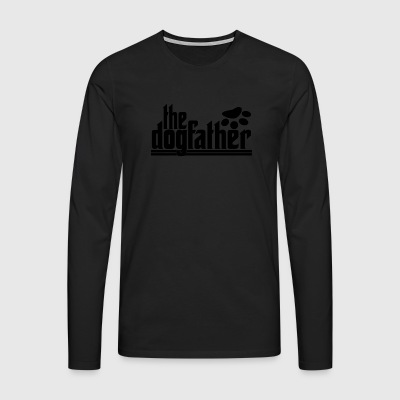 the DOGfather - Men's Premium Longsleeve Shirt