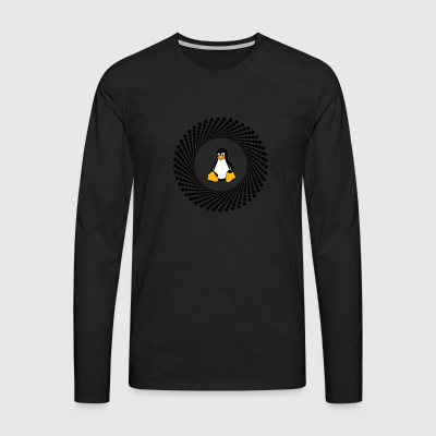 Penguin circle pc computer - Men's Premium Longsleeve Shirt