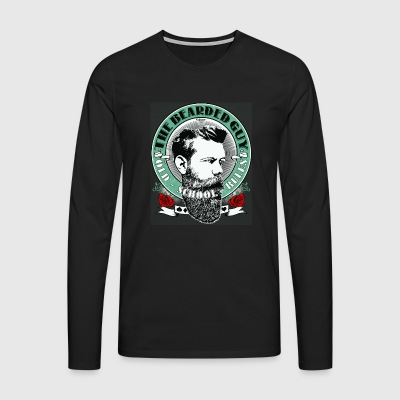 bearded guy color 05 - Men's Premium Longsleeve Shirt