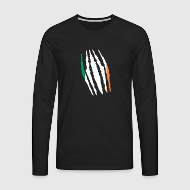 Claw claw cracks origin Ireland png - Men's Premium Longsleeve Shirt