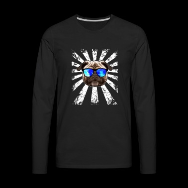PUG Shirts | Sun sunglasses | radiate - Men's Premium Longsleeve Shirt