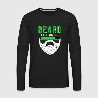 BEARD chargement - Bart chargement - T-shirt manches longues Premium Homme